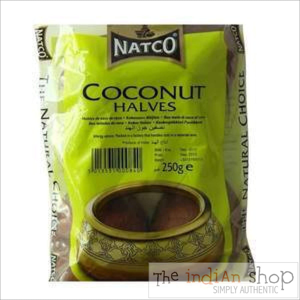Natco Coconut Halves - 250 g - Nuts and Dried Fruits