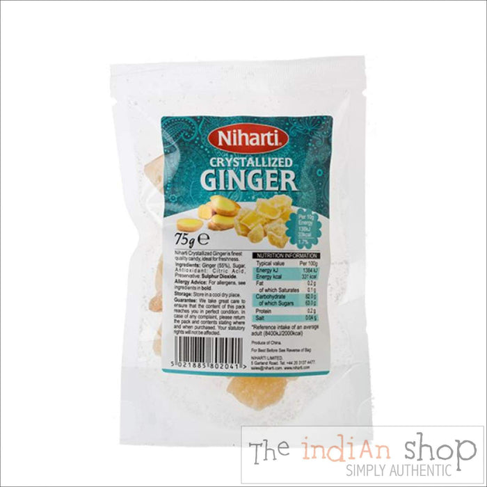 Niharti Crystallised Ginger - Spices