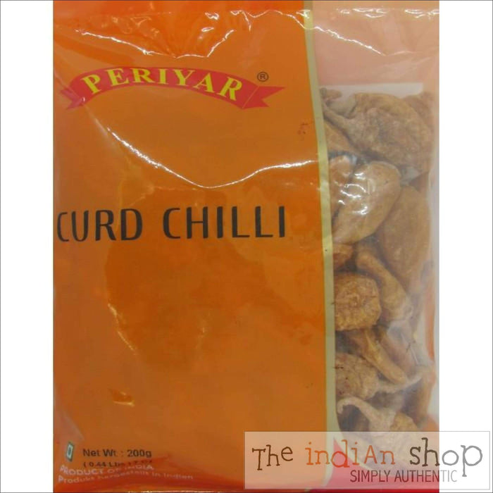 Periyar Curd Chilli - 200 g - Appallams