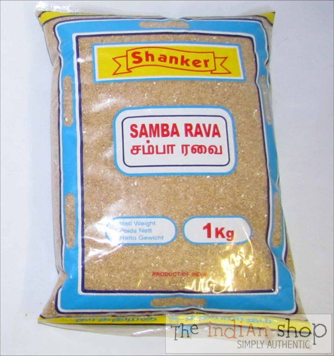 Shankar Samba Rava - 1 kg - Other Ground Flours
