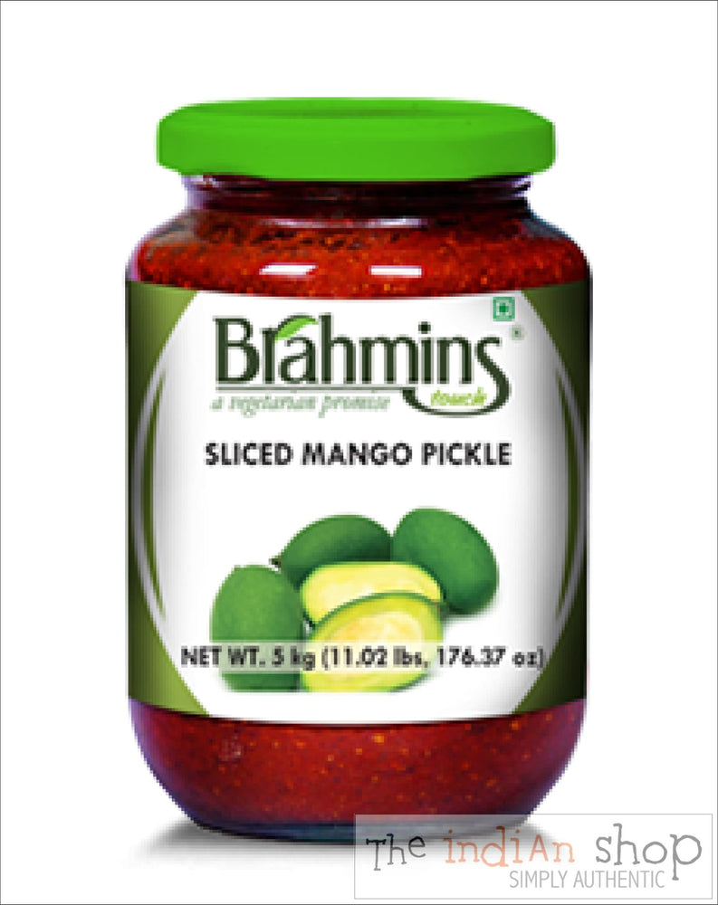 Brahmins Sliced Mango Pickle - 300 g - Pickle