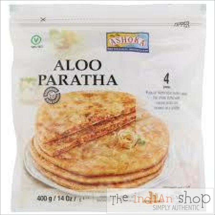 Ashoka Aloo Paratha - 400 g - Frozen Indian Breads
