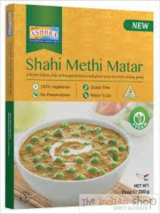 Ashoka Shahi Methi Matar RTE - 280 g - Ready to eat