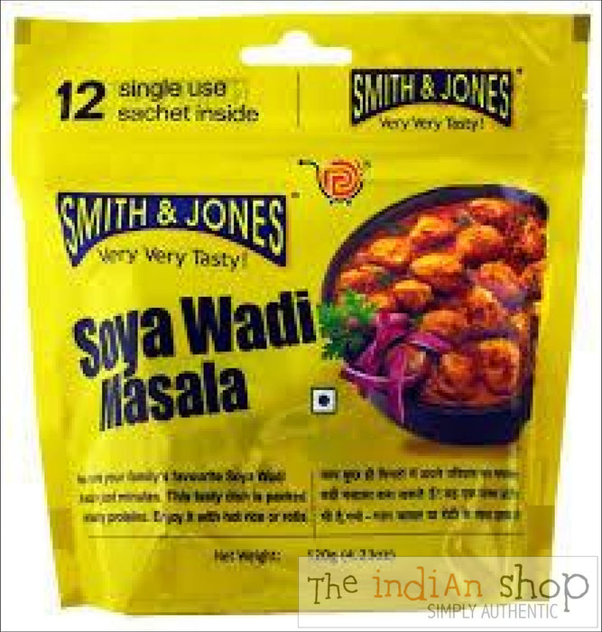 Smith and Jones Soya Wadi Masala - Mixes