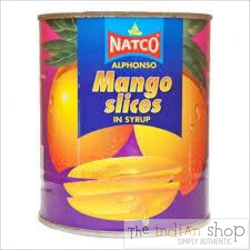Natco Mango Slices (Alphonso) - 850 g - Canned Items