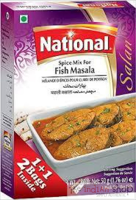 National Fish Masala - 100 g - Mixes