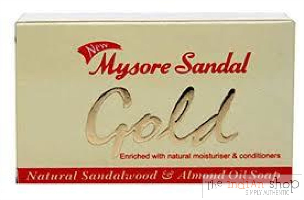 Mysore Sandal Gold Soap - 125 g - Beauty and Health