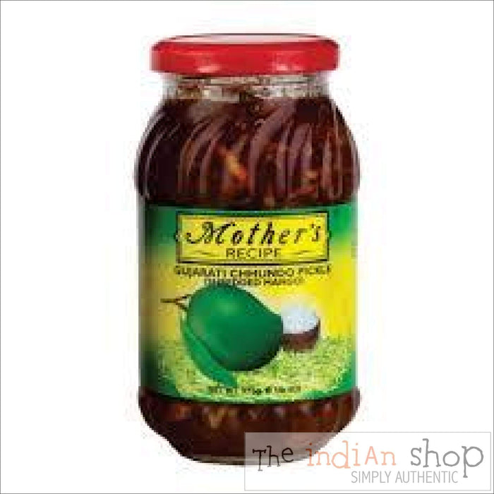 Mothers Pride Gujarati Choondo Pickle - 575 g - Pickle