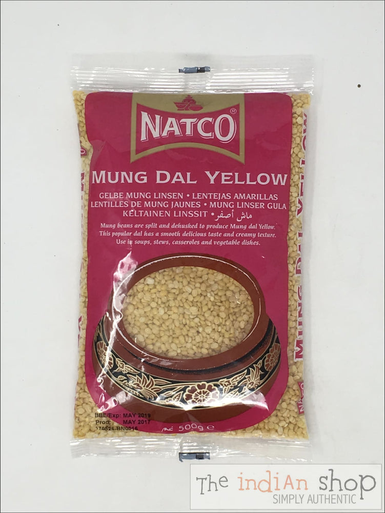 Natco Mung Dal Yellow - 500 g - Lentils