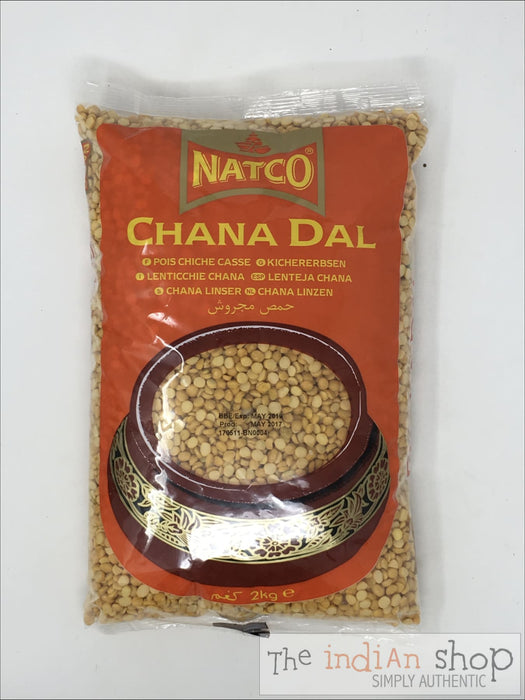 Natco Chana Dal Polished - 2 Kg - Lentils