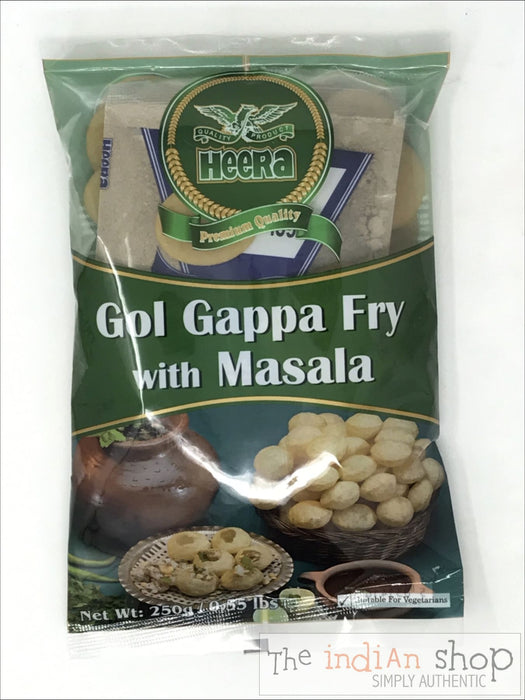 Heera Gol Gappa Fry with Masala - Snacks