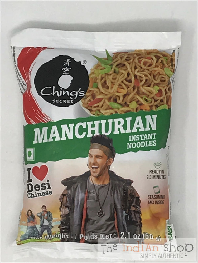 Chings Manchurian Noodles - 60 g - Snacks