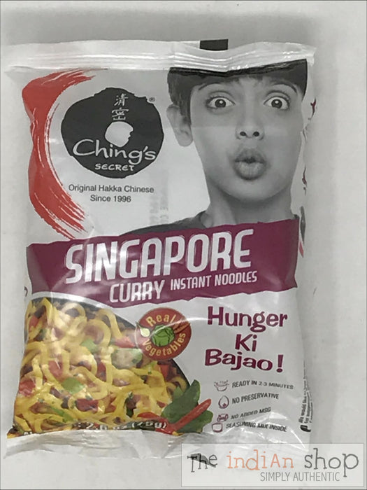 Chings Singapore Curry Noodles - 60 g - Snacks