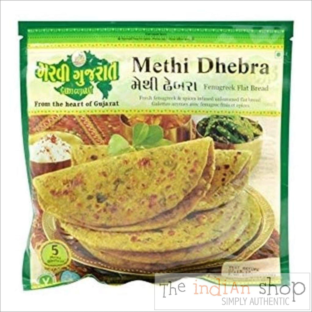 Garvi Gujurat Methi Dhebra - Frozen Indian Breads