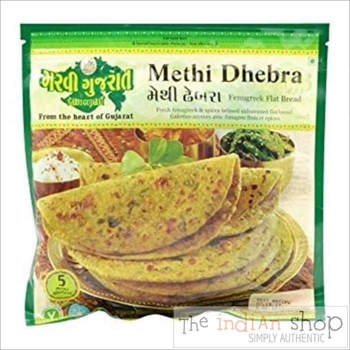 Garvi Gujurat Methi Dhebra - 285 g - Frozen Indian Breads
