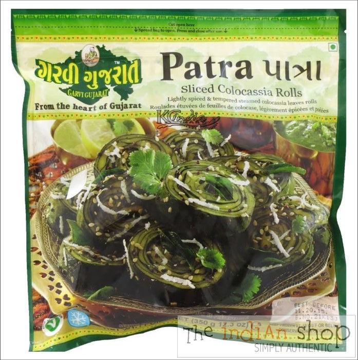 Garvi Gujarat Patra - 350 g - Frozen Ready to Eat