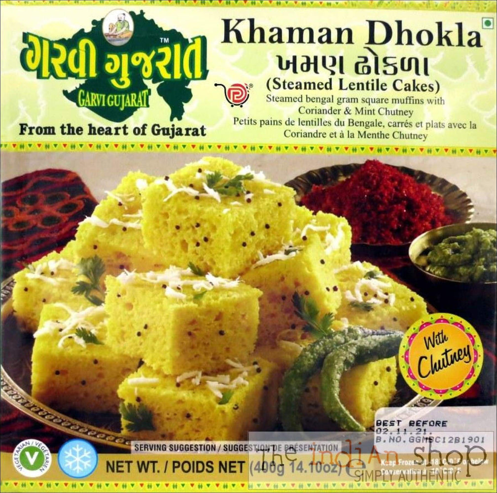 Garvi Gujarat Khaman Dhokla - Frozen Ready to Eat