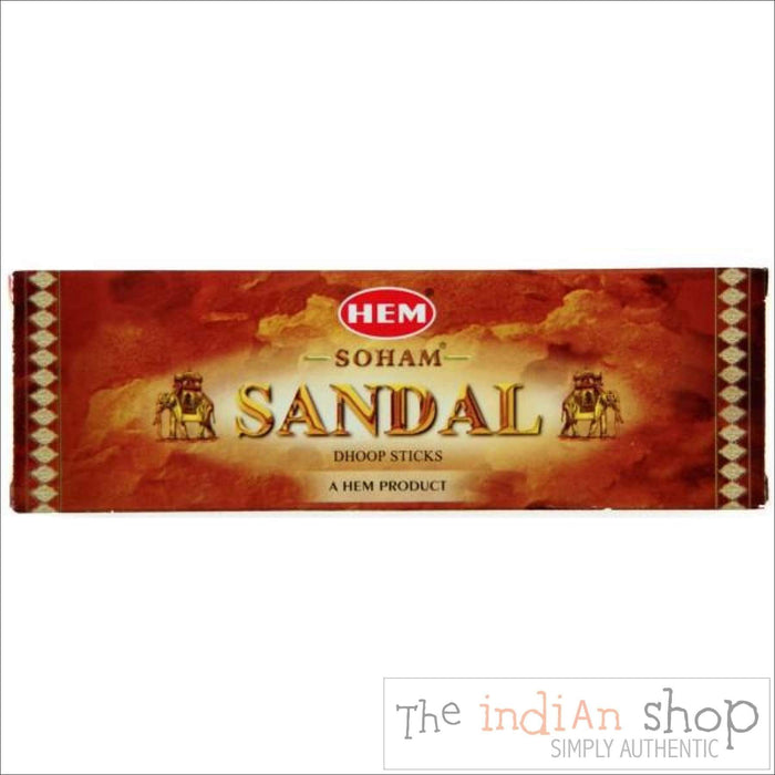 Hem Dhoop Sticks Sandal - Pooja Items