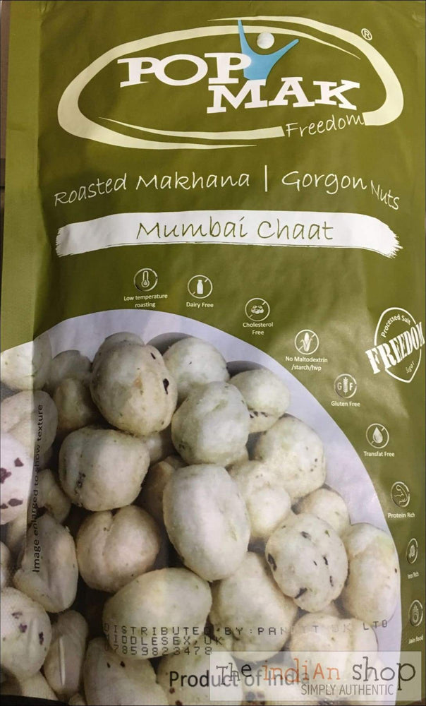 Pop Mak Roasted Makhana Mumbai Chat Masala - Snacks