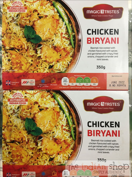 Magic Tastes Chicken Biriyani - 350 g - Frozen Curries
