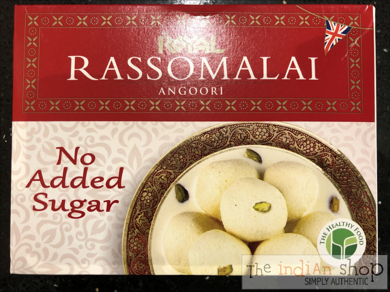 Royal Rassomalai Angoori -no added sugar - Mithai