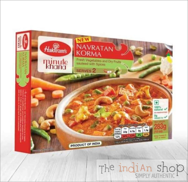 Haldiram Navratan Korma - Frozen Curries