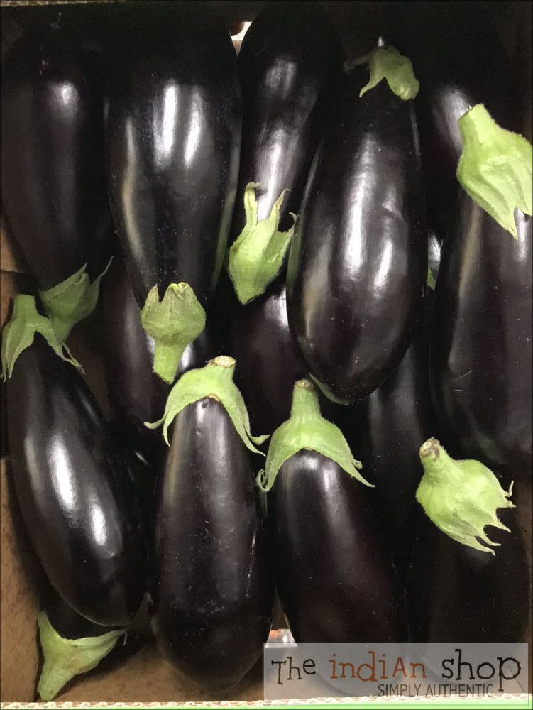Aubergine large (300-400gms) - 1 piece - Fruits and Vegetables