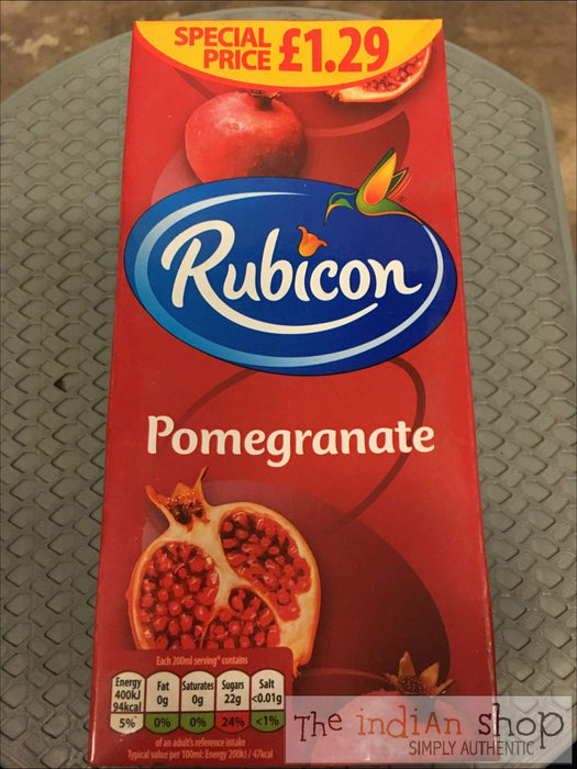 Rubicon Pomegranate Juice - Drinks
