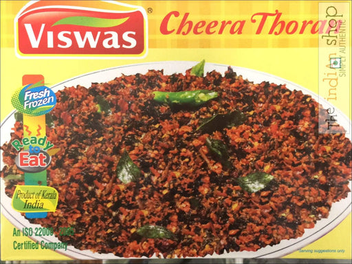 Viswas Cheera Thoran - 350 g - Frozen Ready to Eat