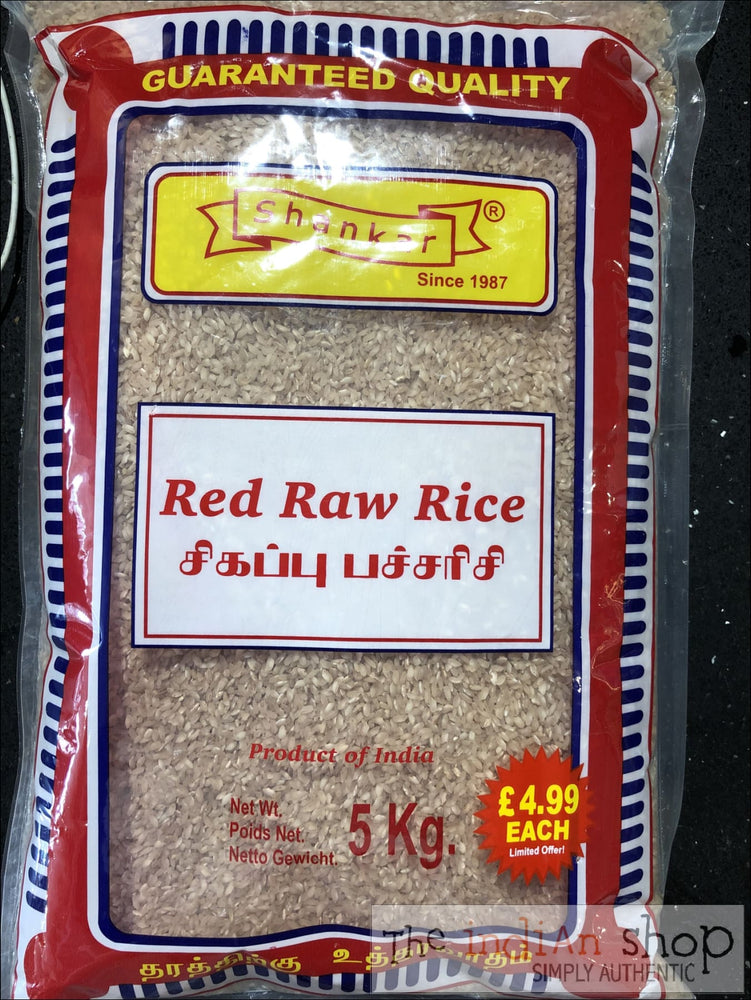 Shankar Red Raw Rice - Rice