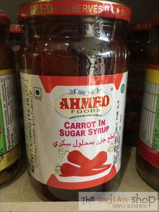 Ahmed Carrot and Sugar Syrup - Pickle