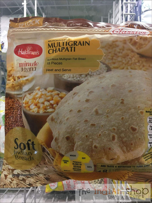 Haldiram Multigrain Chappatti - Frozen Indian Breads