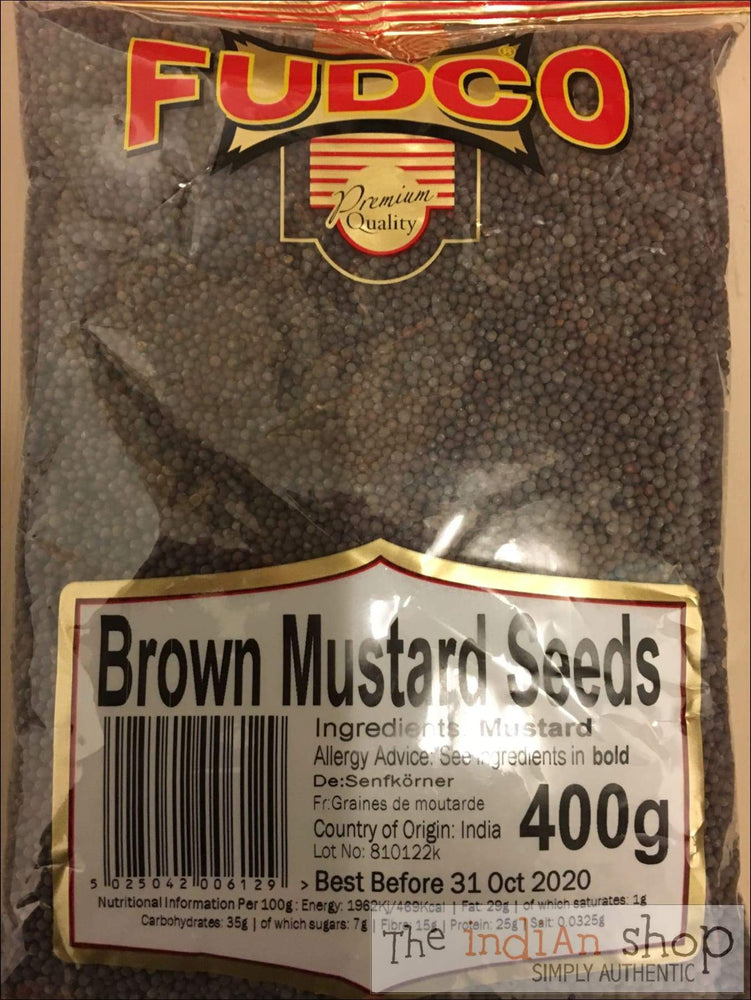 Fudco Brown Mustard Seeds - Spices