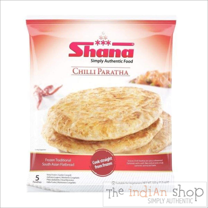 Shana Chilli Paratha - Frozen Indian Breads