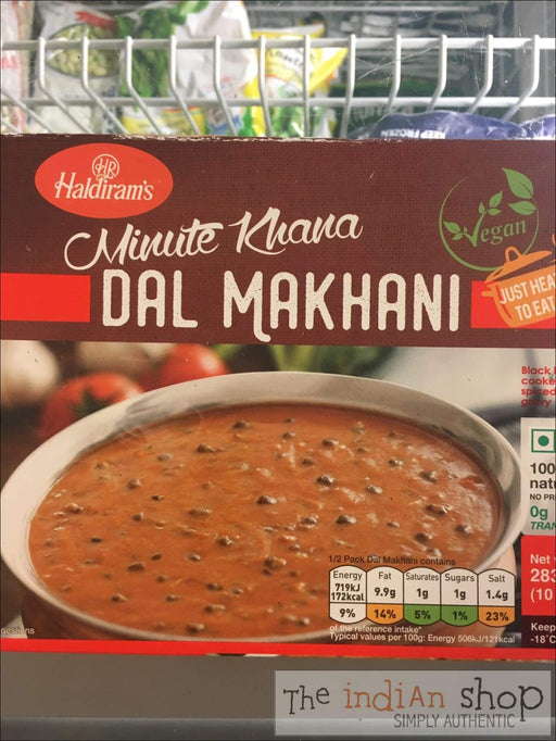 Haldiram Vegan Dal Makhani - Frozen Curries