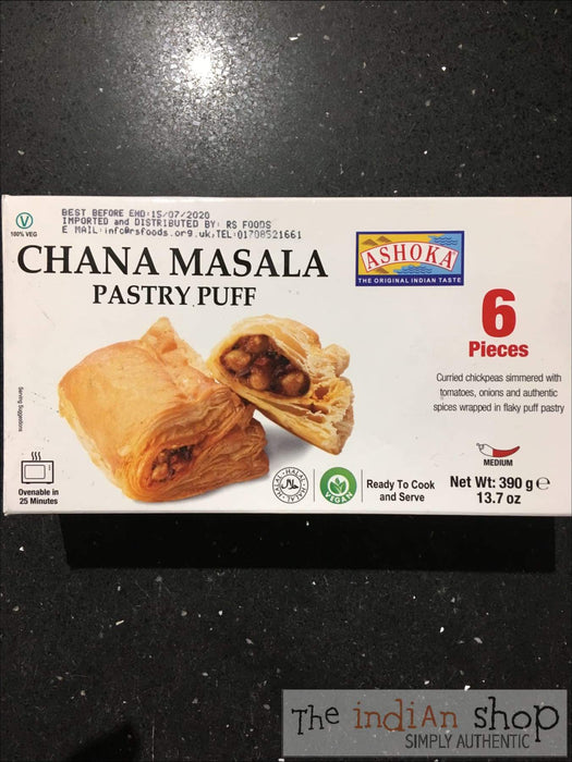 Ashoka Chana Masala Pastry Puff - Frozen Snacks