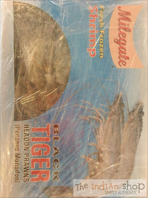 Milegate Frozen Black Tiger Shrimps - Frozen Seafood