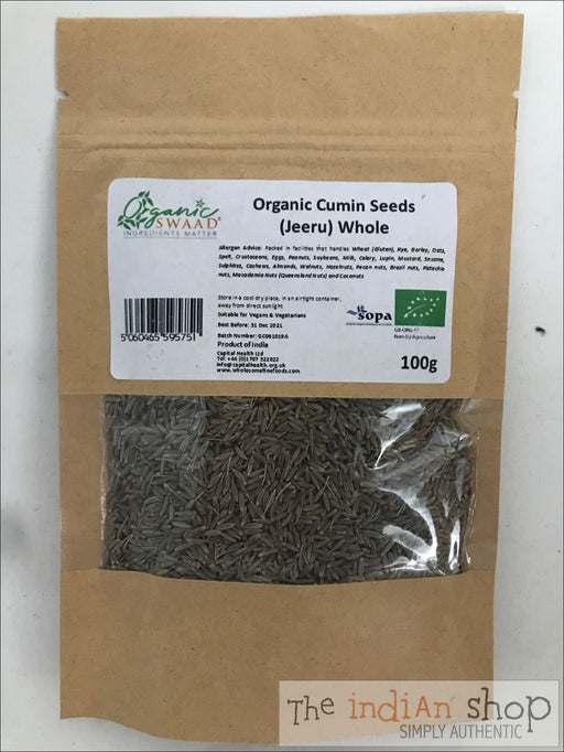 Organic Swaad Cumin (Jeera) Whole - Spices