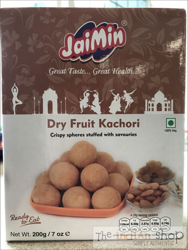 Jaimin Dry Fruit Kachori - 200 g - Snacks