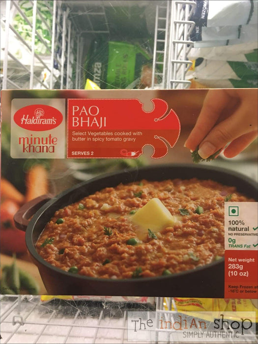 Haldiram Pao Bhaji (Frozen) - Frozen Curries