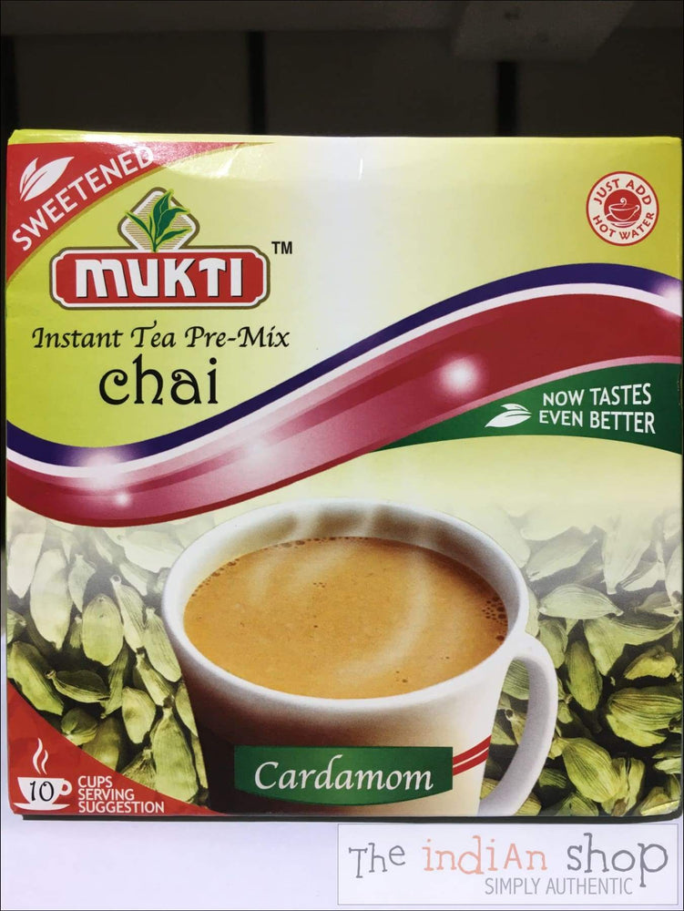Mukti Instant Cardamom Tea Sweetened premix - Drinks