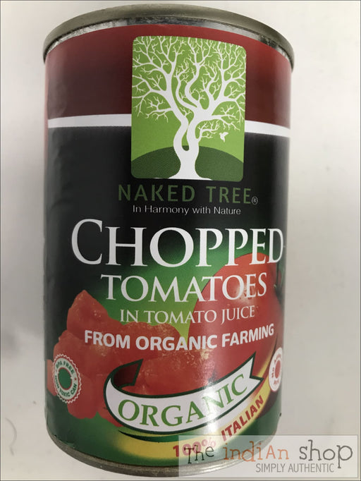 Naked Tree Organic Chopped Tomatoes - Canned Items