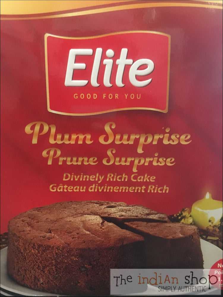 Elite Plum Surprise Cake - Snacks