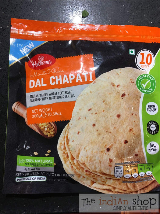 Haldiram Dal Chapati - Frozen Indian Breads