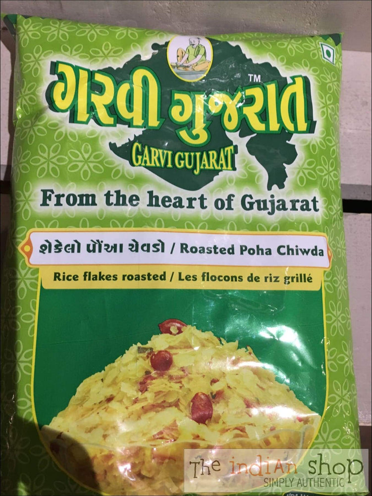 Garvi Gujurat Roasted Poha Chiwda - Snacks