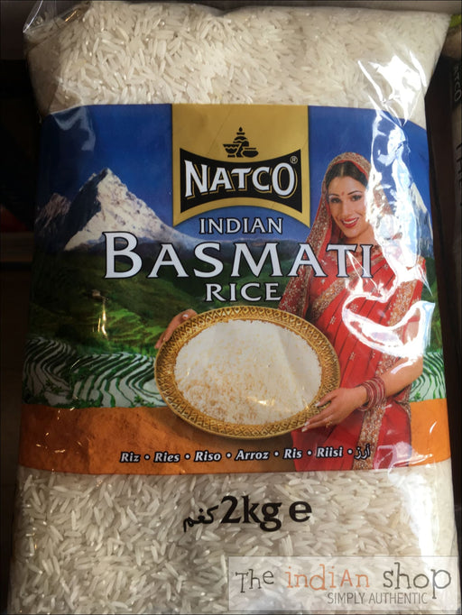 Natco Basmati Rice India - 2 Kg - Rice