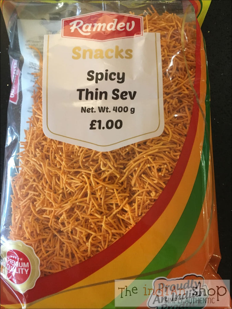 Ramdev Spicy Thin sev - Snacks