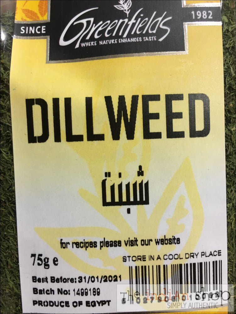 Greenfields Dillweed - Spices