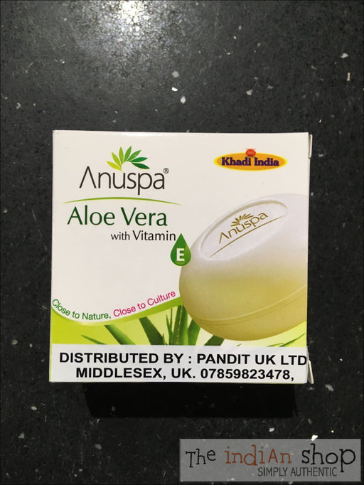 Anupsa Aloe Vera Soap - Beauty and Health