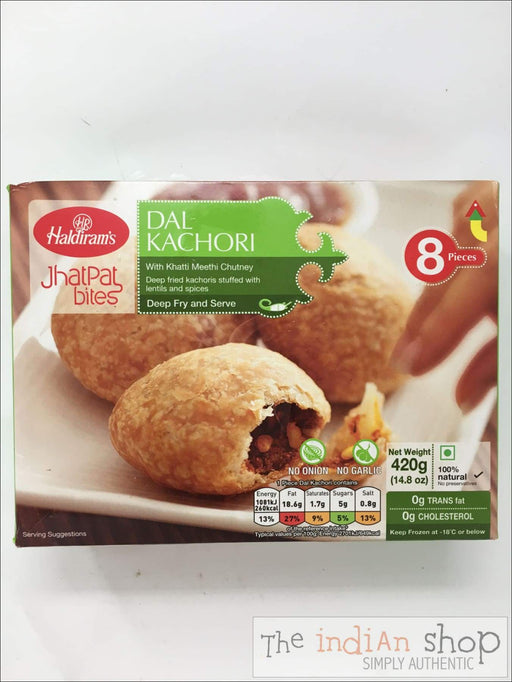 Haldiram Dal Kachori - Frozen Snacks